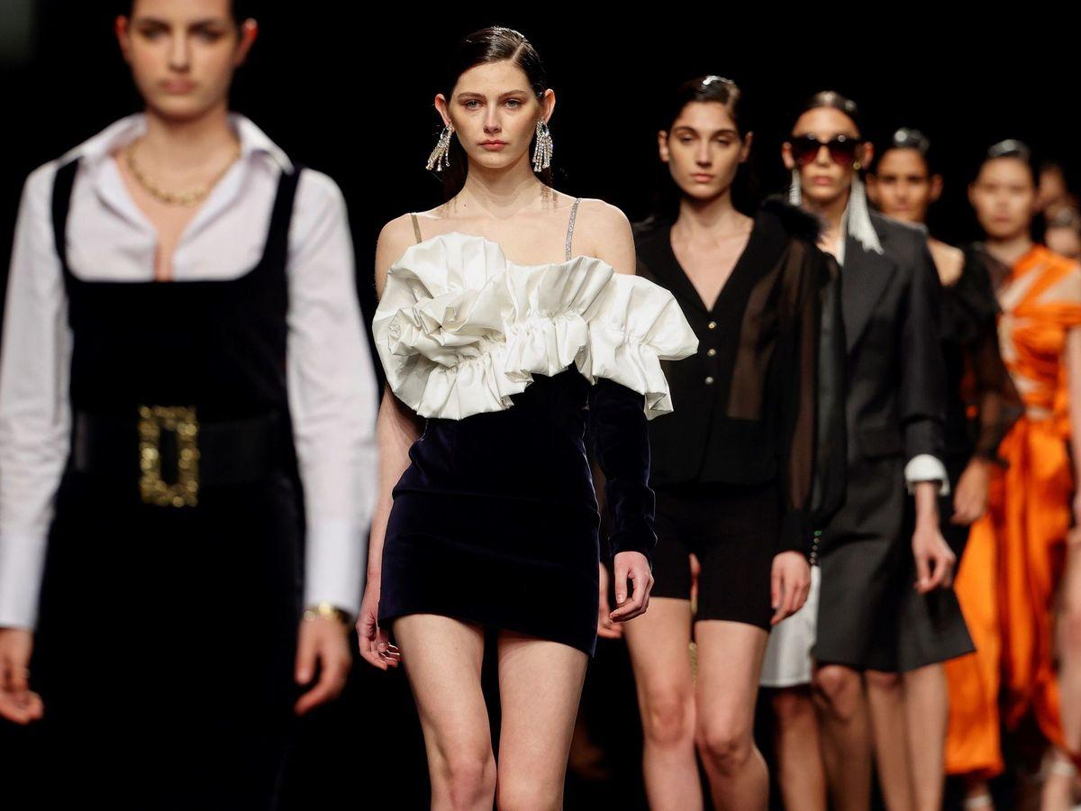 Foto: Pasarela Mercedes-Benz Fashion Week Madrid. (EFE)