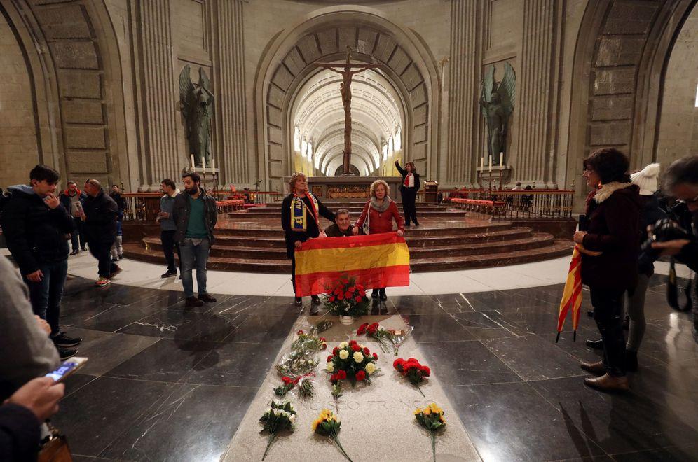 Foto: La tumba de Francisco Franco, en el Valle de los Caídos, el pasado 17 de noviembre. (Reuters)