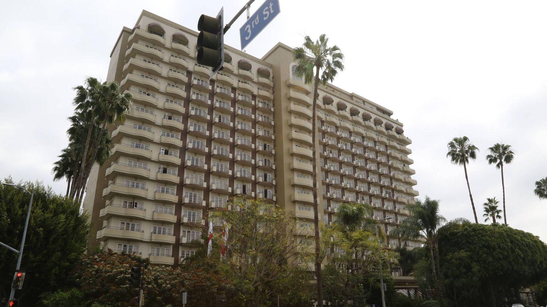 El Four Seasons Hotel en el que se ha alojado el equipo del príncipe. (Gtres)