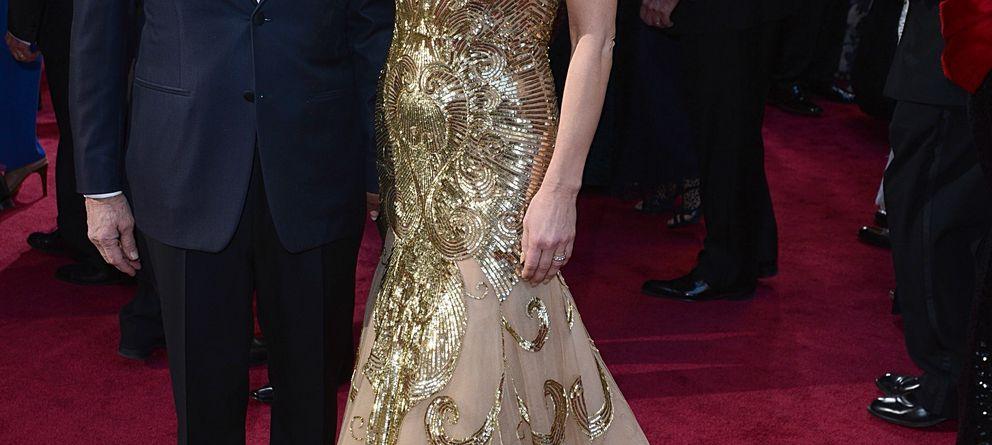 Foto: Michael Douglas y Catherine Zeta-Jones en la ceremonia de entrega de los premios Oscar. Los Ángeles. Febrero 2013 (I.C.)