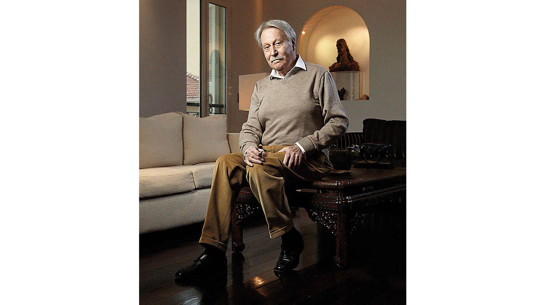 Foto: Gérald Genta, uno de los creadores relojeros más prolíficos y también más admirados.