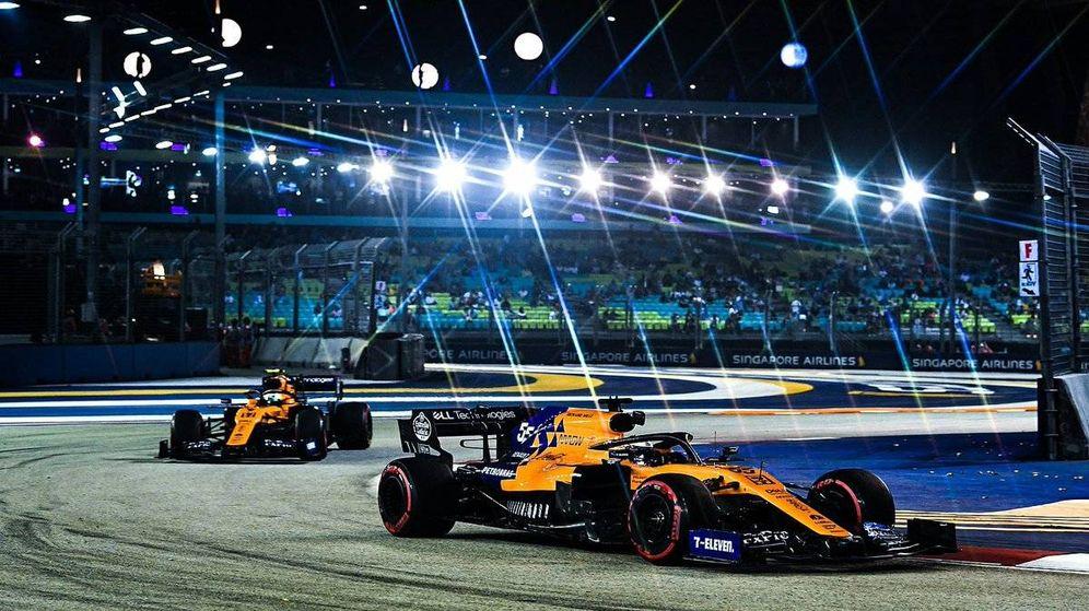 Foto: Carlos Sainz fue séptimo en las dos sesiones de entrenamientos libres del GP de Singapur (McLaren)