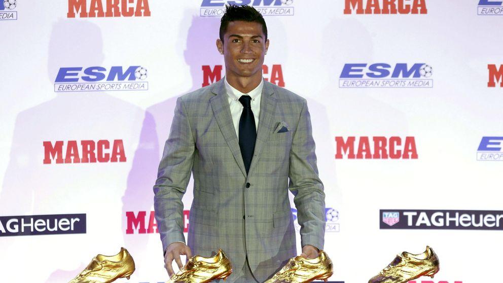 Cristiano recibe la Bota de Oro: Sé que soy el único con cuatro y quiero más