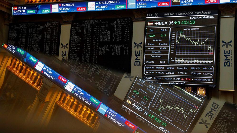 Foto:  El Ibex 35, principal indicador de la Bolsa española. (EFE)