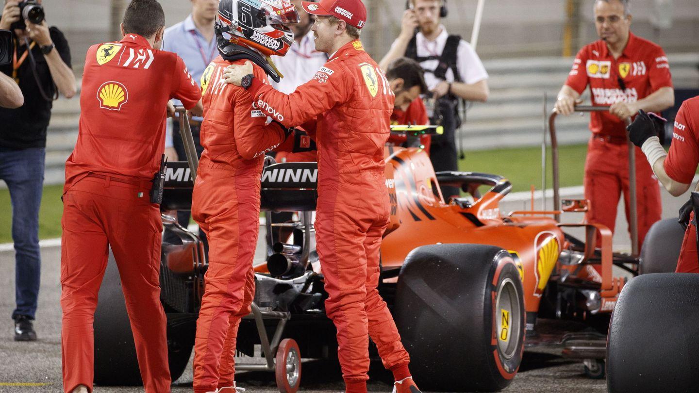 Vettel tiene que demostrar quien es el campeón del mundo a Leclerc. (EFE)