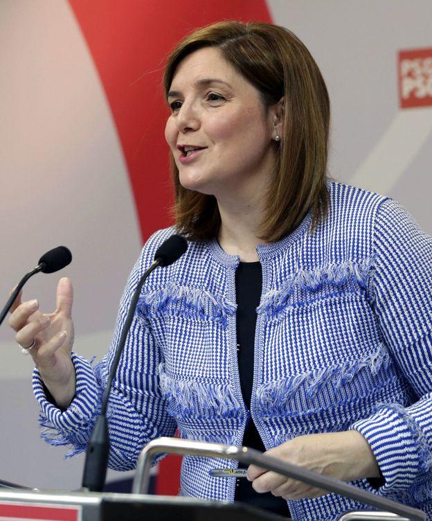 Foto: Pilar Cancela, presidenta de la gestora del PSdeG y diputada en el Congreso por A Coruña, el pasado 22 de octubre. (EFE)