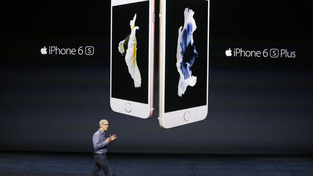 Foto: Tim Cook durante la presentación del iPhone 6s y 6s Plus el pasado septiembre. (Reuters)