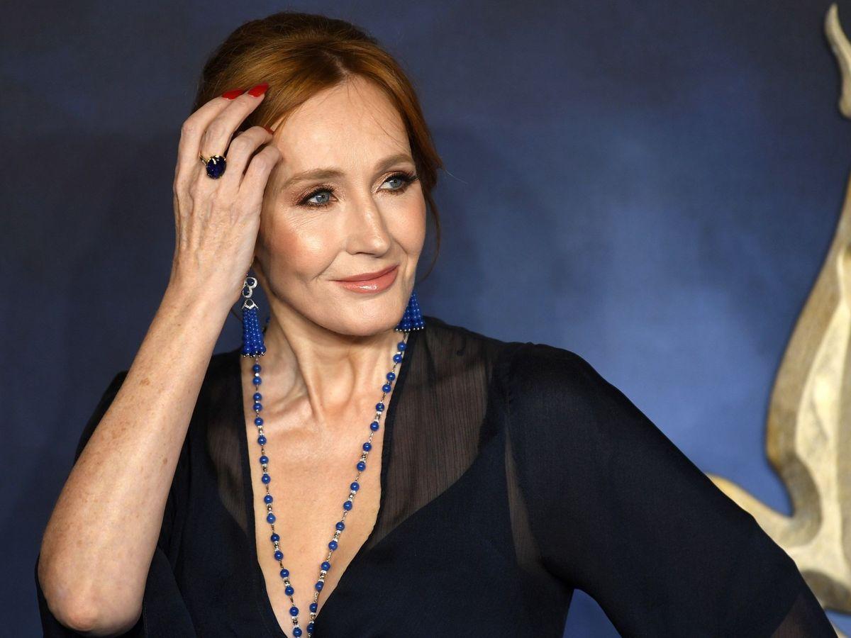 Foto: J. K. Rowling, la escritora de 'Harry Potter', en el estreno de 'Animales fantásticos: los crímenes de Grindelwald' (EFE)