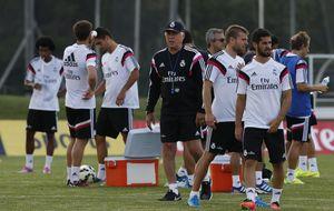 El Real Madrid, exigente examen ante el Manchester United