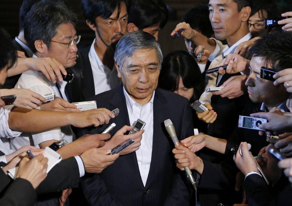 Foto: Haruhiko Kuroda, gobernador del Banco de Japón