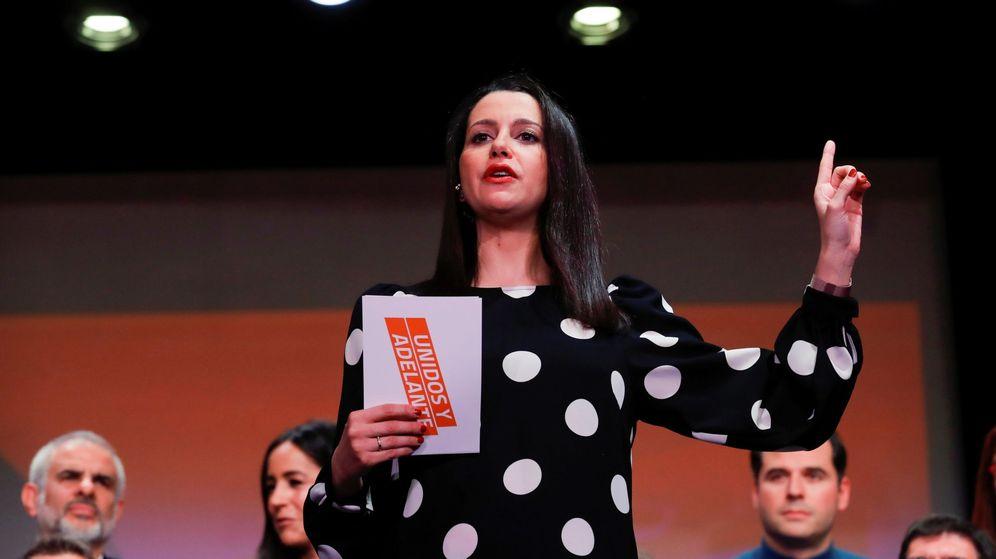 Foto: La portavoz parlamentaria de Ciudadanos, Inés Arrimadas. (EFE)