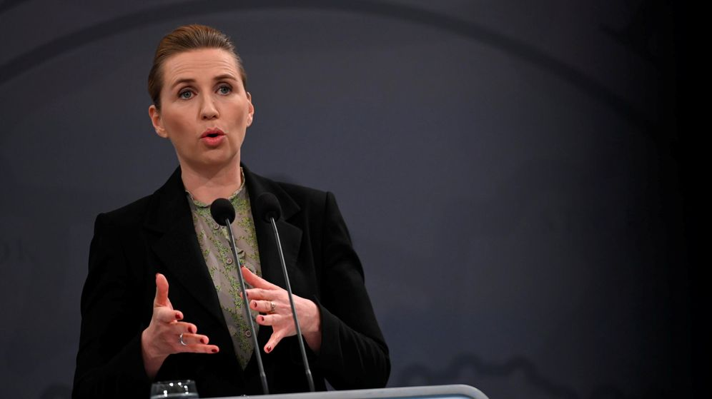 Foto: La primera ministra danesa, Mette Frederiksen (REUTERS)