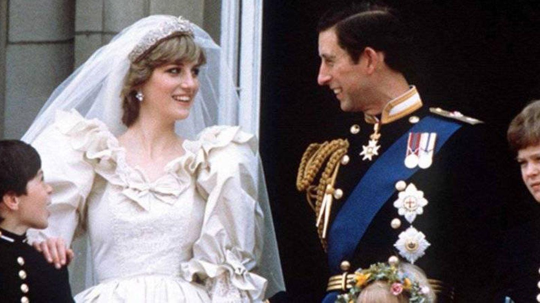 Diana de Gales en el día de su boda con Carlos. (Gtres)
