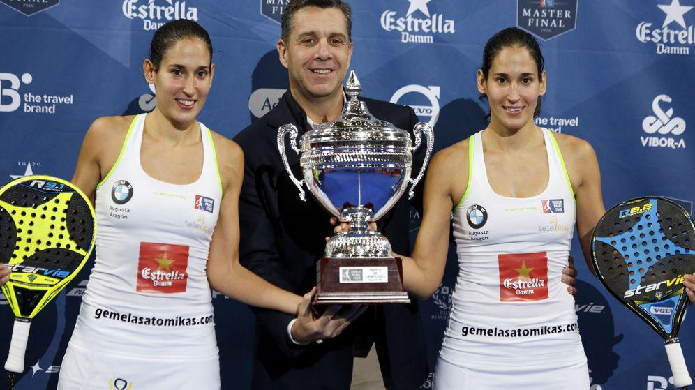 Foto: Las gemelas ganaron el Master Final por segunda vez (Javier López/EFE)