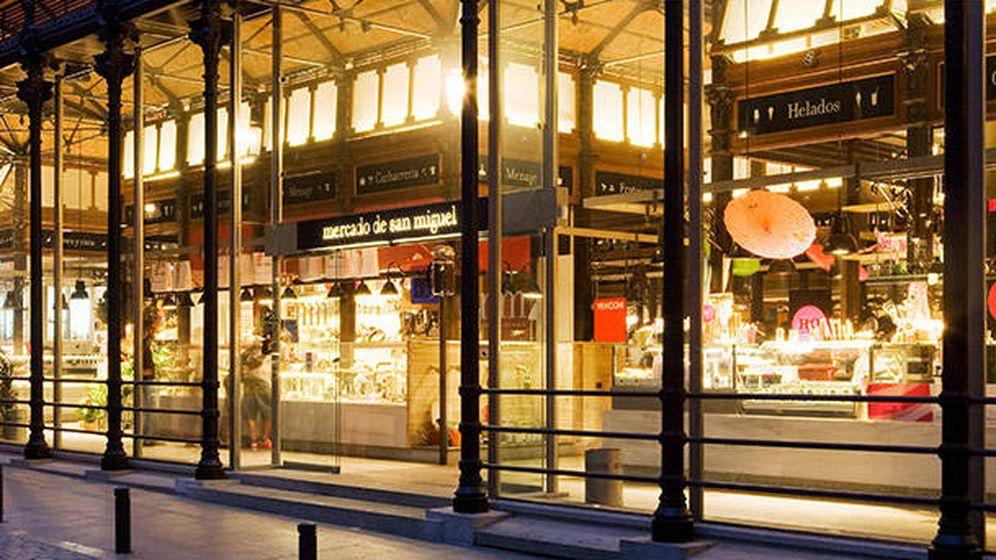 Foto: Vista exterior del Mercado de San Miguel