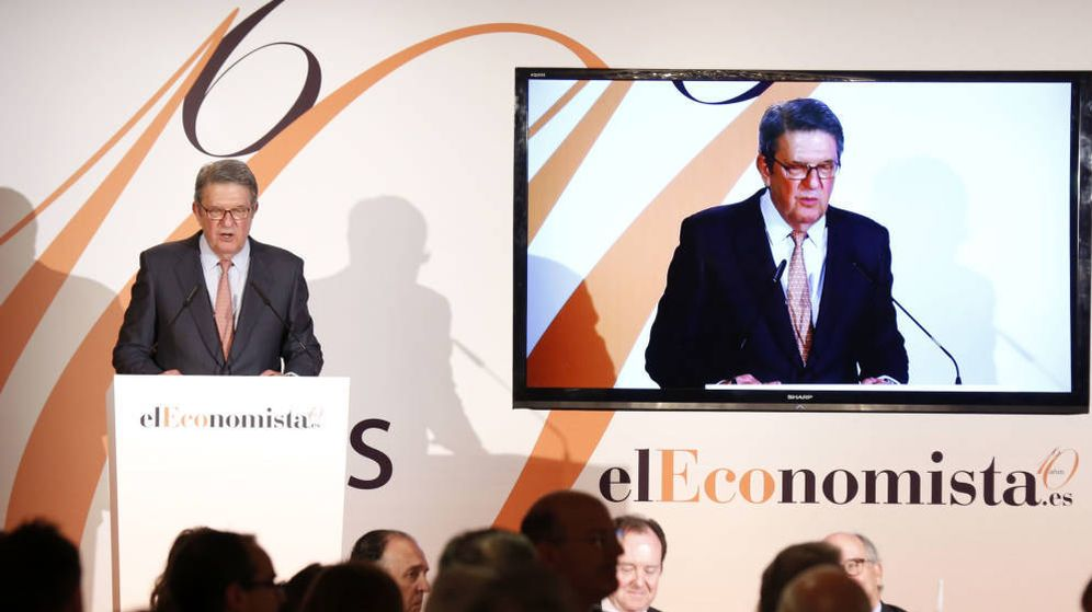 Foto: Alfonso de Salas, durante un evento de 'El Economista'. (EFE)