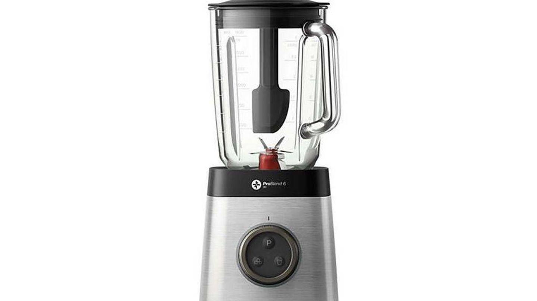 Batidora de vaso Philips HR3652/00 con jarra de cristal de 2 litros