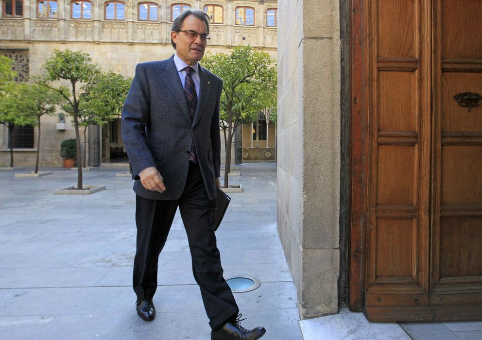 Foto: El presidente de la Generalitat de Cataluña,  Artur Mas (EFE)