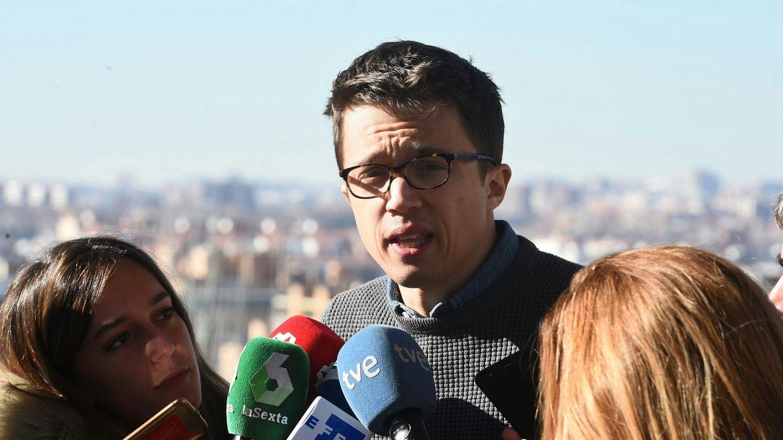 Íñigo Errejón, todavía diputado de Podemos por Madrid. (EFE)