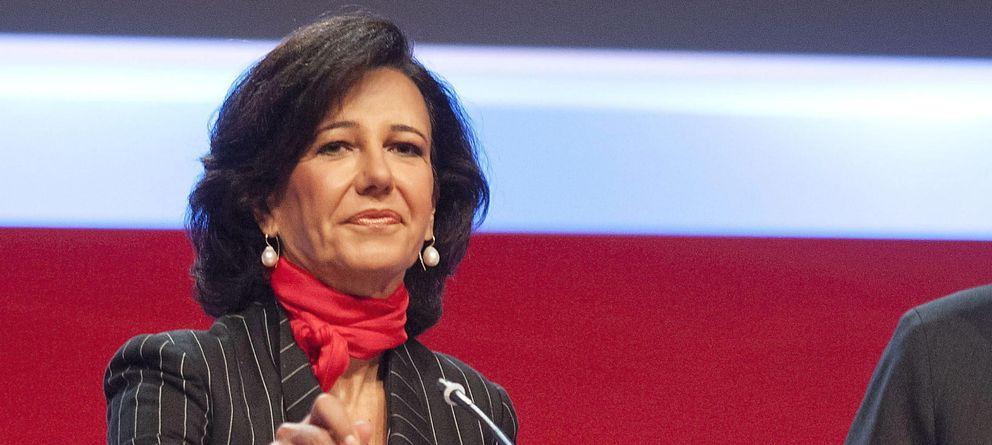 Foto: Ana Botín, presidenta de Santander