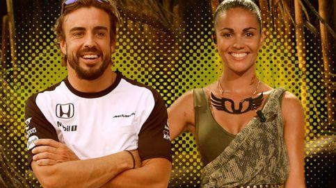 Lara Álvarez y Fernando Alonso, muy románticos pese a la distancia