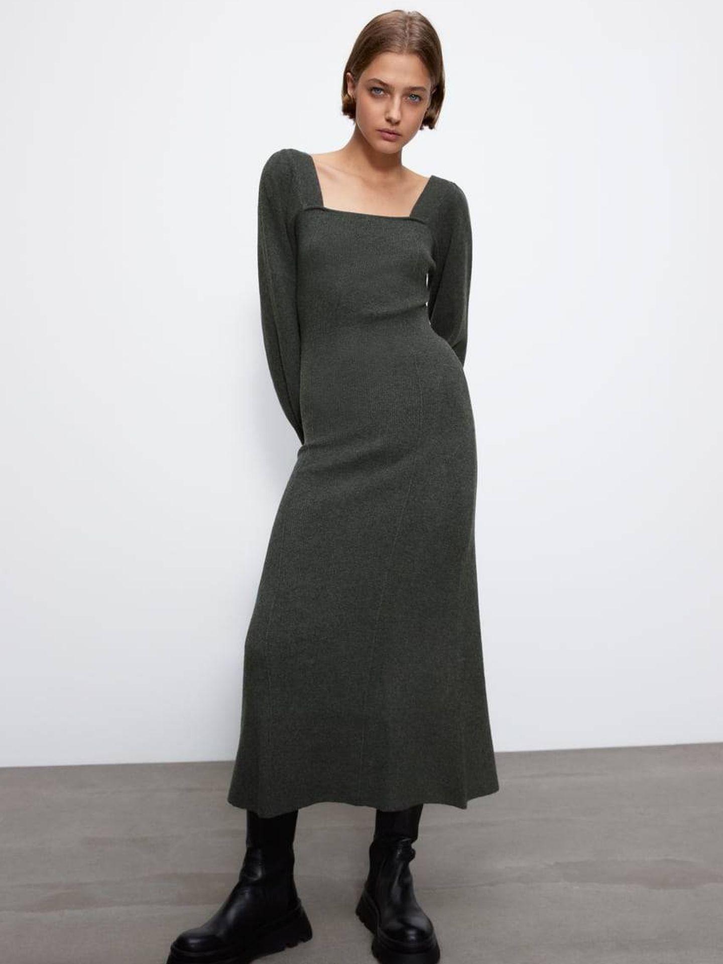 Sara Carbonero y el vestido de Zara de sus sueños. (Cortesía)
