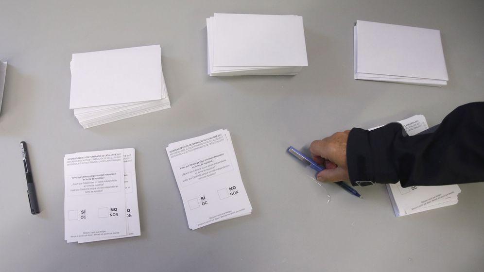 Foto: Jornada del referéndum (EFE)