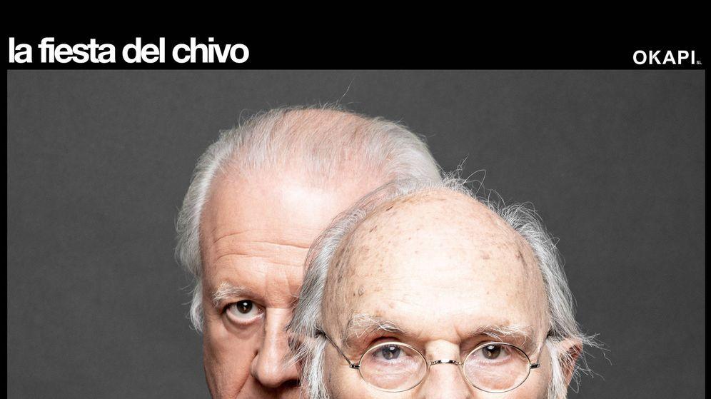Foto: Echanove y Saura en una foto promocional.