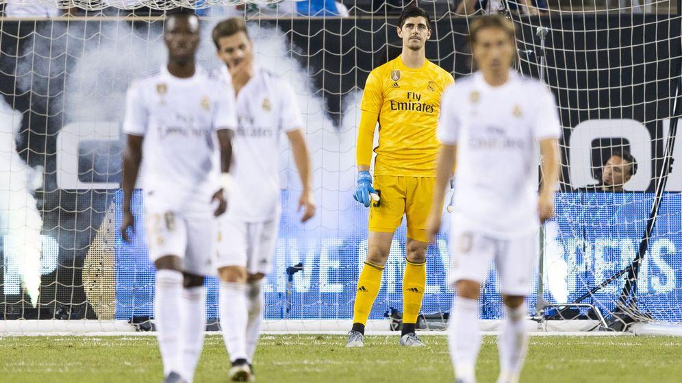 Foto: El Real Madrid no ganó ninguno de sus tres partidos amistosos en Estados Unidos. (EFE)