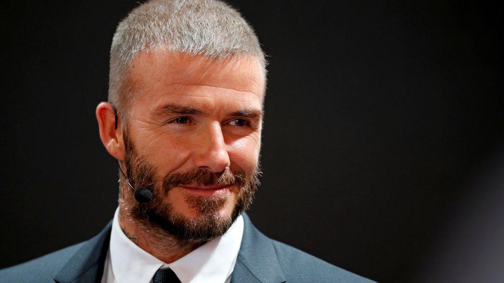 Foto: David Beckham también mima a sus mascotas. (Reuters)