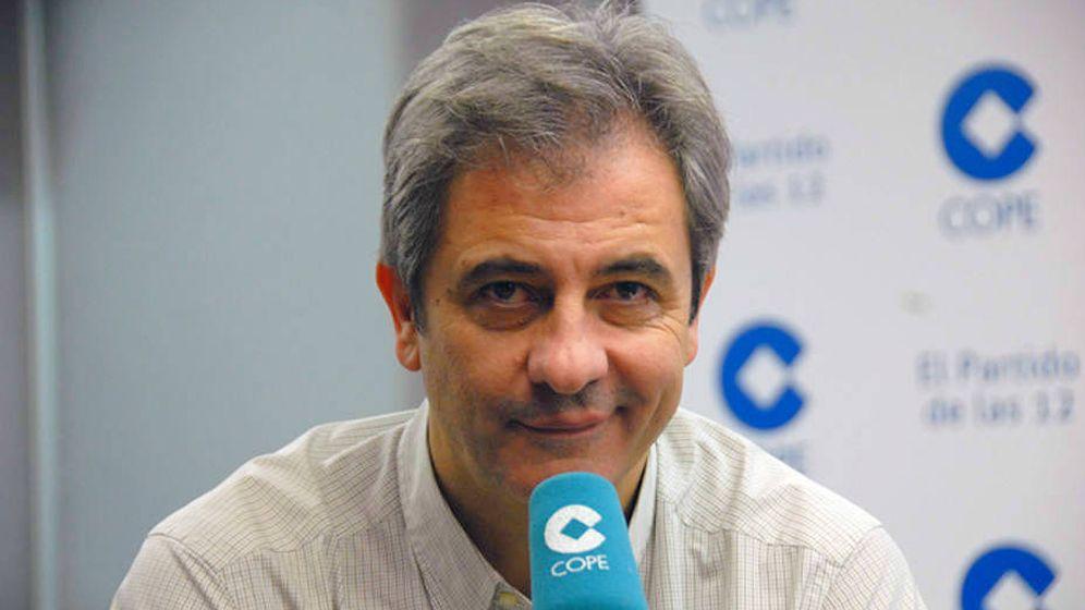 Foto: El locutor deportivo Manolo Lama. (COPE)