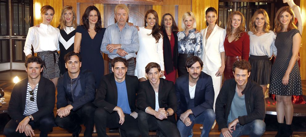 El elenco de velvet presenta su segunda temporada - Velvet de antena 3 ...