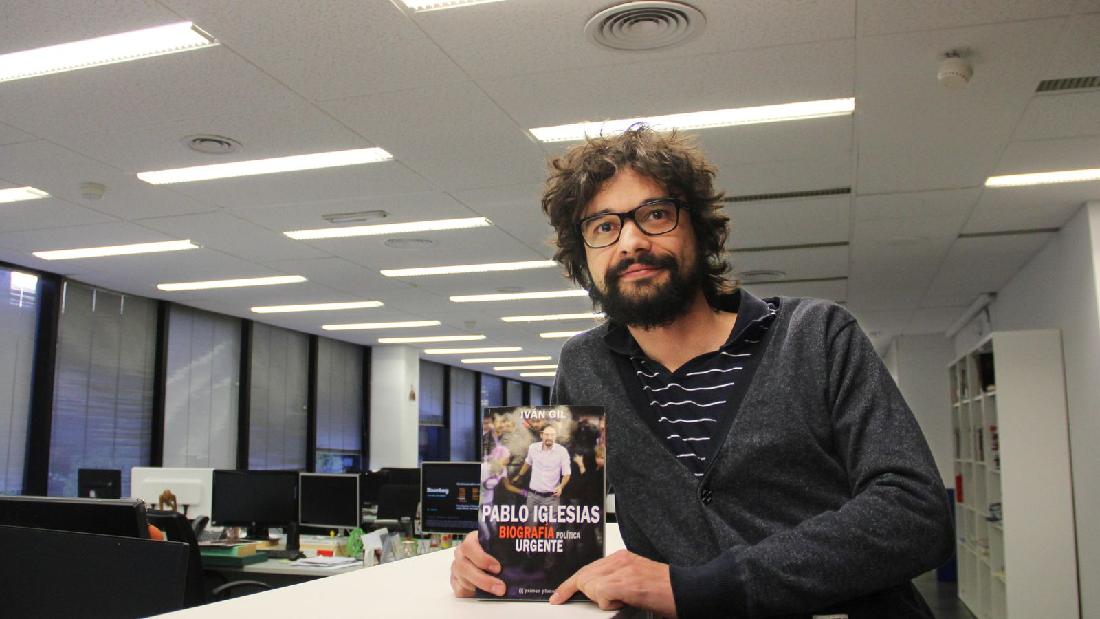Foto: El periodista de 'El Confidencial' Iván Gil. (E. Villarino)