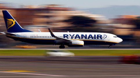 Un pasajero de Ryanair rompe el control y corre por la pista para alcanzar su vuelo