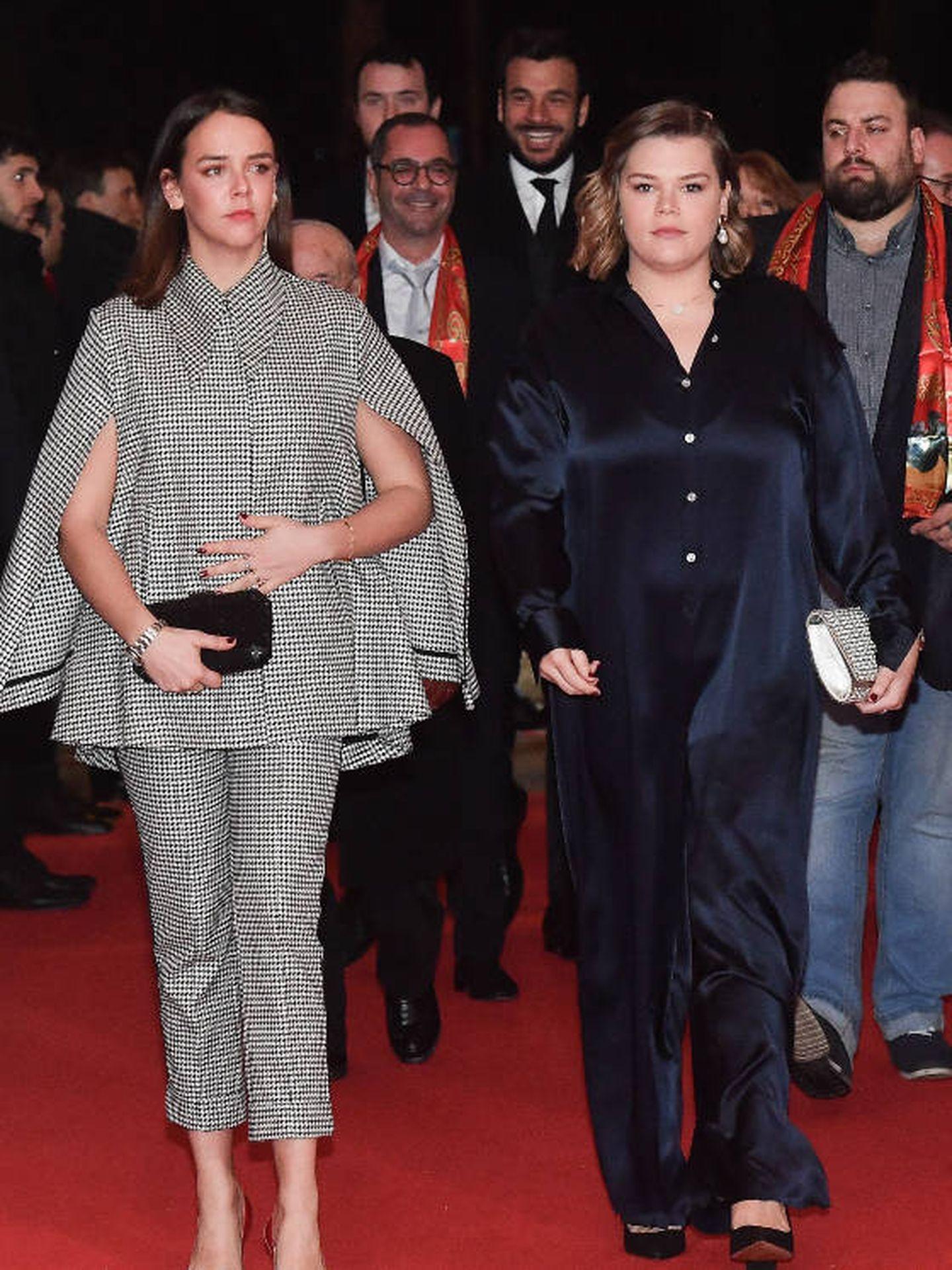 Pauline Ducruet y su hermana Camille Gottlieb, en enero de este año. (Cordon Press)