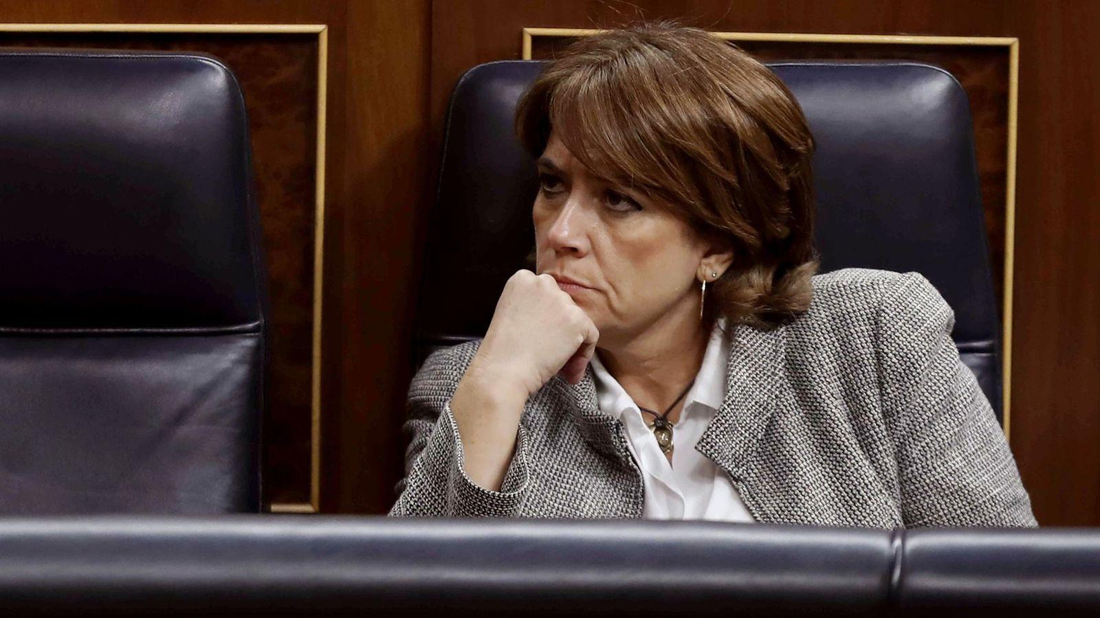 Foto: La ministra de Justicia Dolores Delgado.(EFE)