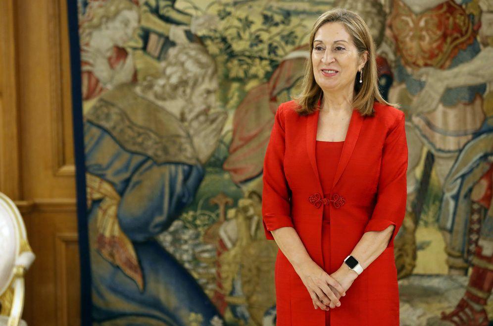 Foto: Ana Pastor, presidenta del Congreso, el pasado 25 de octubre de 2016 en la Zarzuela. (EFE)