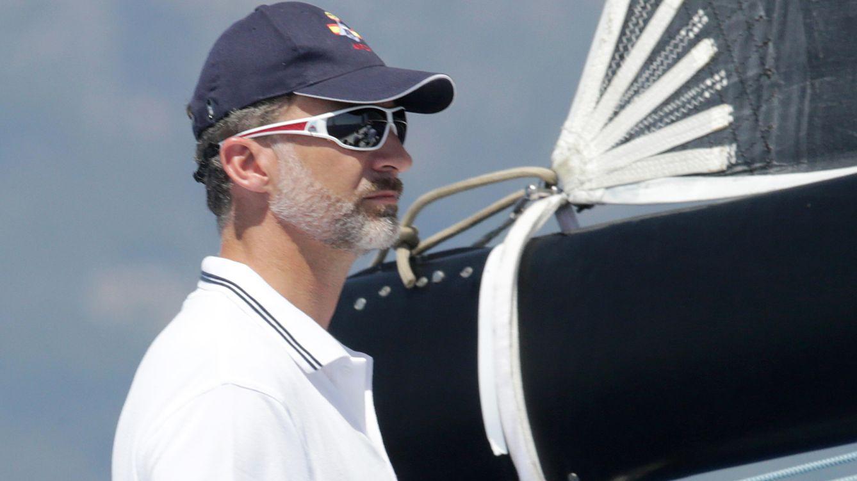 El Rey Felipe: jornada de regatas y gin tonic