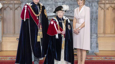 Máxima de Holanda: 'menos es más' (y sin tocado) para triunfar junto a la reina Isabel