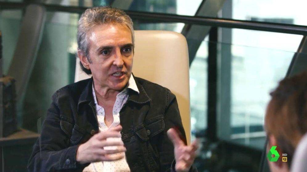 Foto: Ramoncín, entrevistado por Cristina Pardo. (Atresmedia)