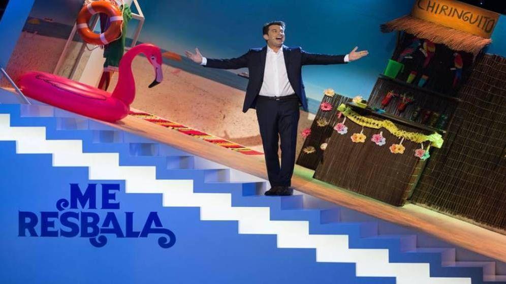 Foto: 'Me resbala', programa líder de la noche del viernes, recibe a Pedroche.