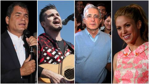 Colombia y su 'no' al acuerdo con las FARC moviliza Twitter: Uribe, Shakira, Juanes...