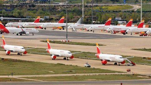 Las aerolíneas despegan en bolsa con los aviones en tierra