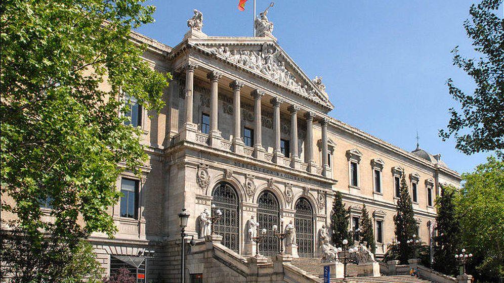 Foto: La Biblioteca Nacional. (Wikipedia)