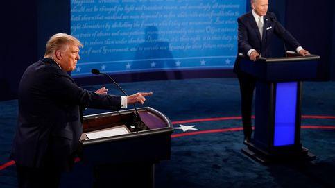 Trump contra Biden: insultos e interrupciones nublan el primer debate