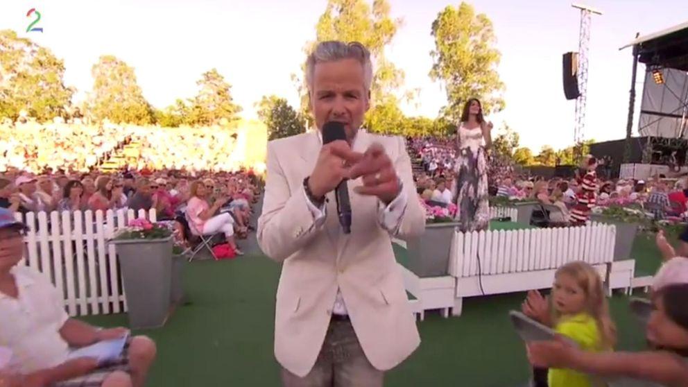 El marido de la princesa Marta Luisa se desata bailando como Jagger en la tele noruega
