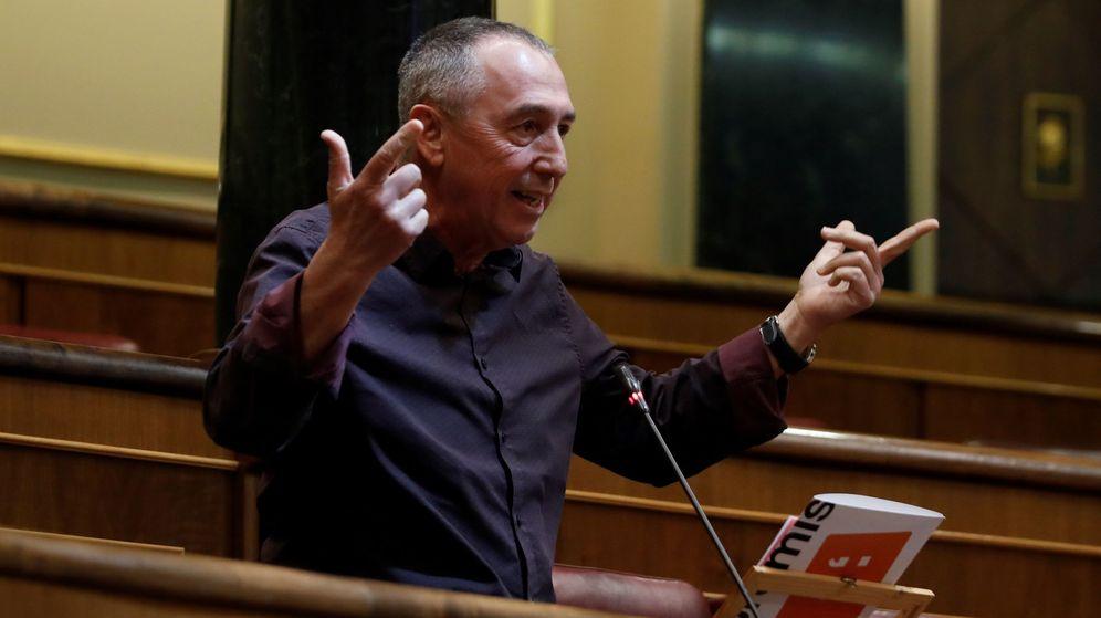 Foto: El diputado de Más País-Compromis Joan Baldoví. (EFE)