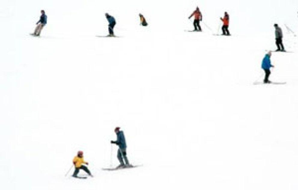 Foto: Las lesiones de rodilla, hombro y codo, las más habituales en las pistas de esquí