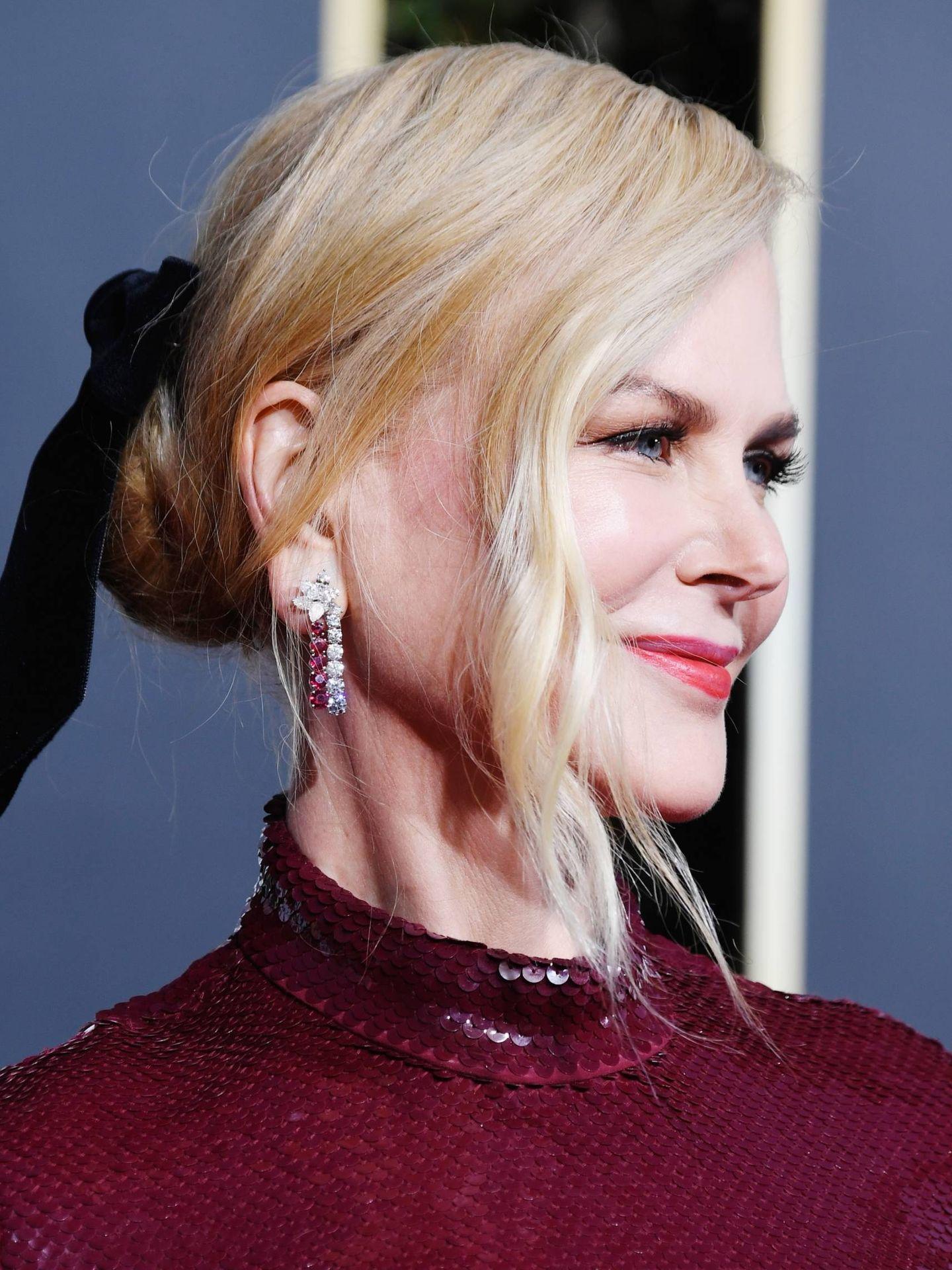 Nicole Kidman en los Globos de Oro de 2018.
