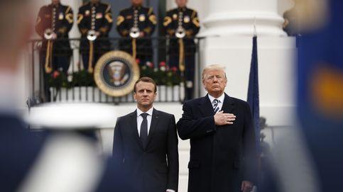 Cortejando a Trump, Macron trata de salvar Occidente (y, de paso, Oriente Medio)